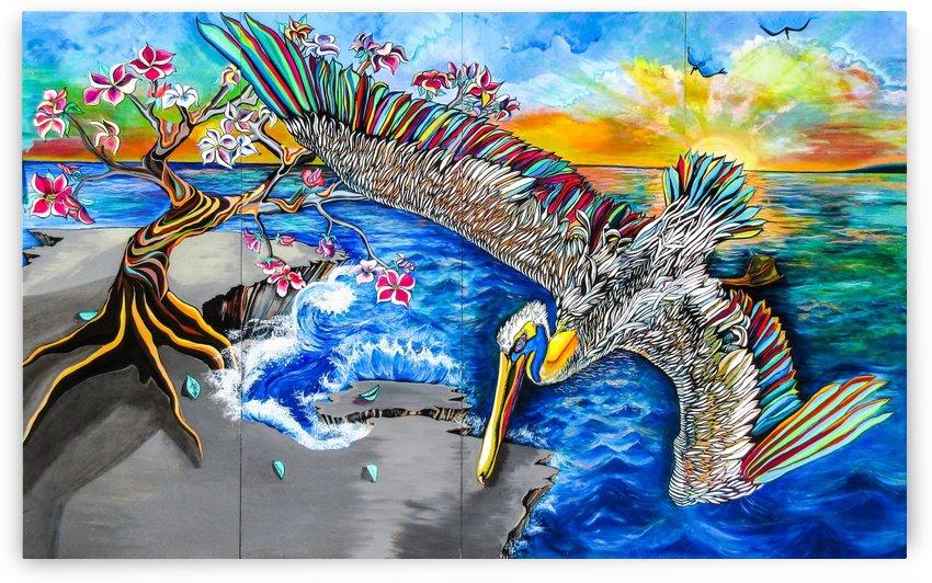 Pelican by Lana Art