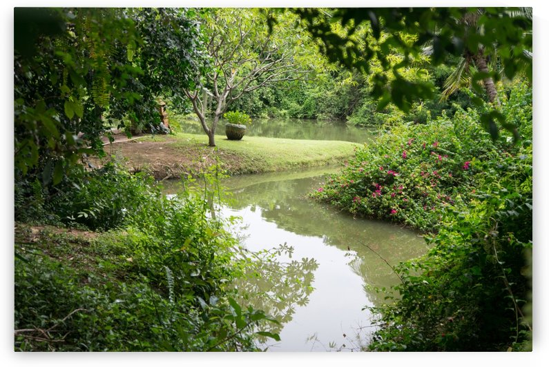 river in the garden restaurant in chainat by Babett-s Bildergalerie