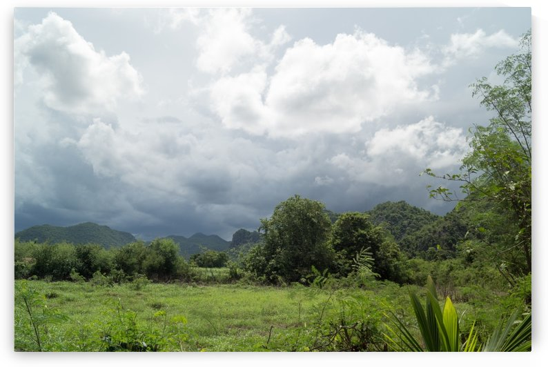 sweeping monsoon - view into the landscape by Babett-s Bildergalerie