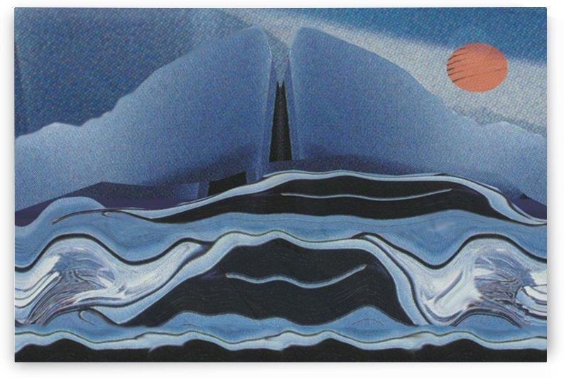 Nordic Landscape  002 by Otto Graser Visual Artist