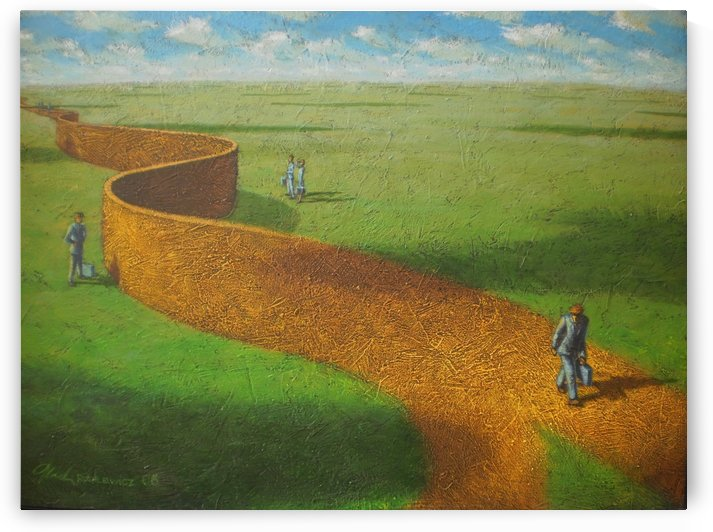The Road Less Travelled by Mark Ruchlewicz
