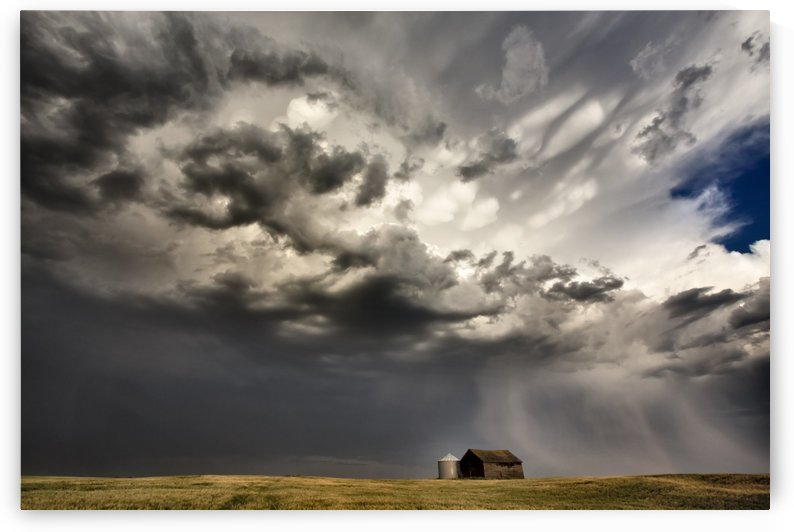 Prairie Storm Saskatchewan by Mark Duffy