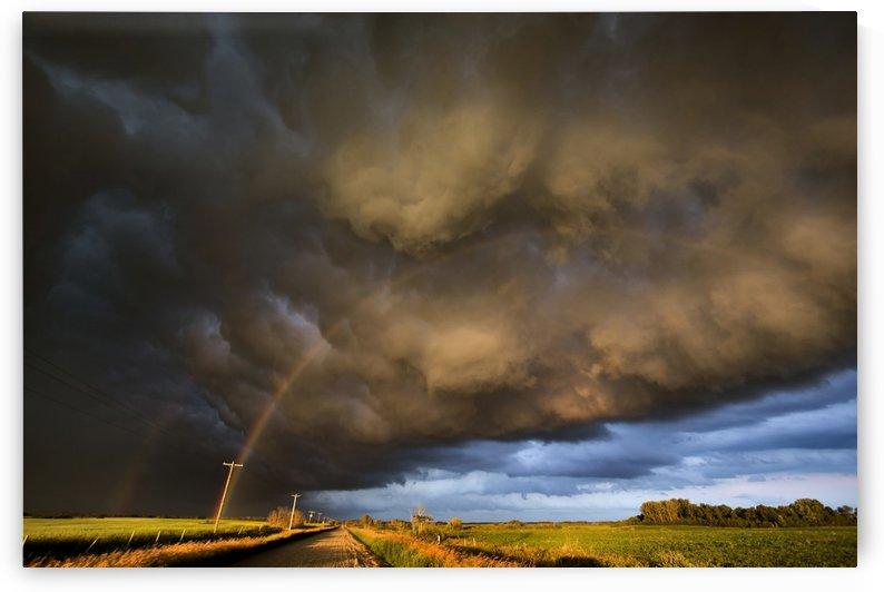 Prairie Storm by Mark Duffy