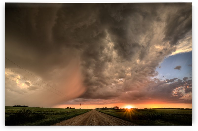 Sweeping Hail by Mark Duffy