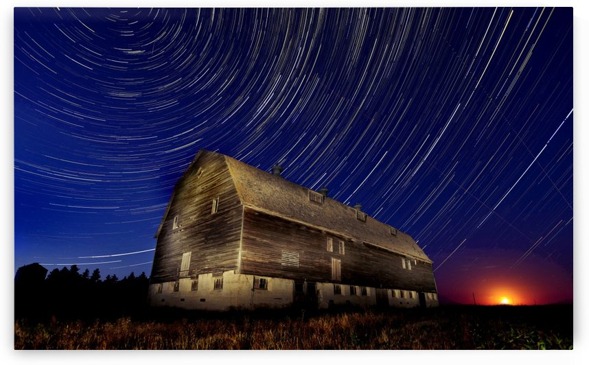 Night Barn by Mark Duffy