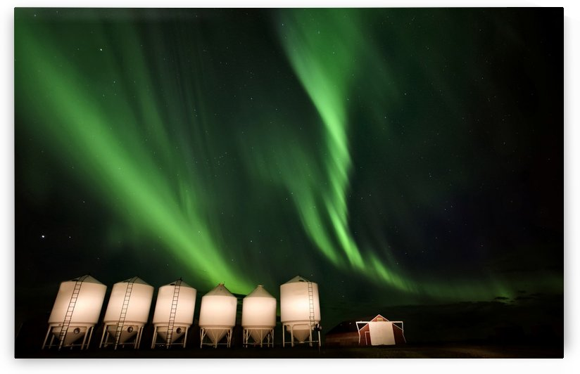 Prairie Aurora by Mark Duffy