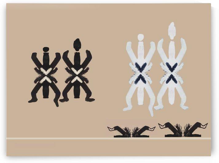 Petroglyph  0621 by Otto Graser Visual Artist