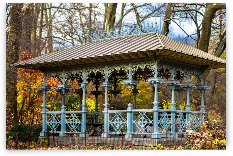 Gazebo Central Park  by vincenzo