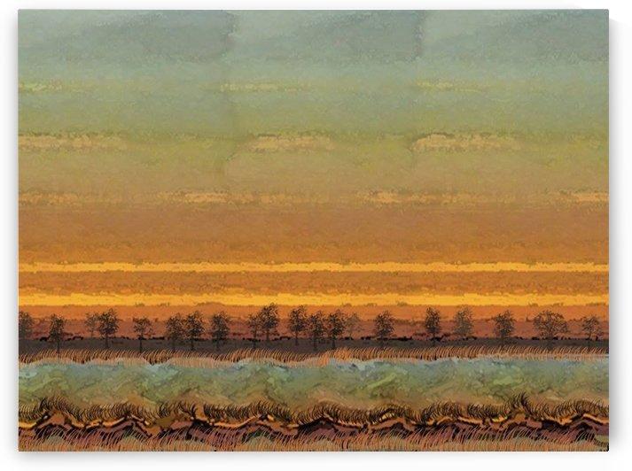 Landscape  0622 by Otto Graser Visual Artist