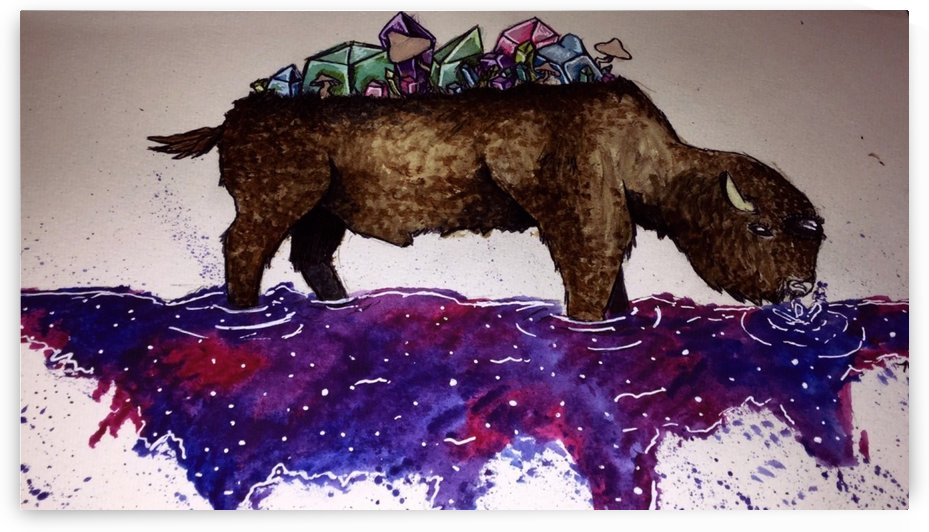 Space Buffalo by Makayla Ellis