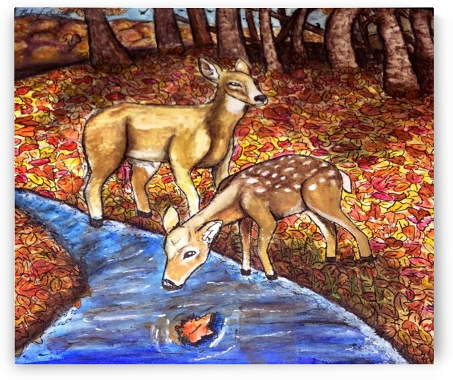Autumn Deer by Makayla Ellis