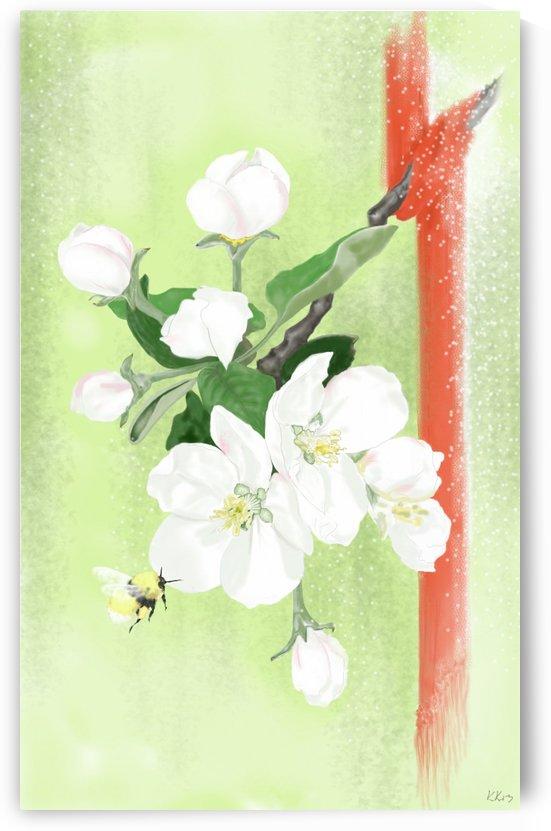 Apple tree by Kirsi Korhonen
