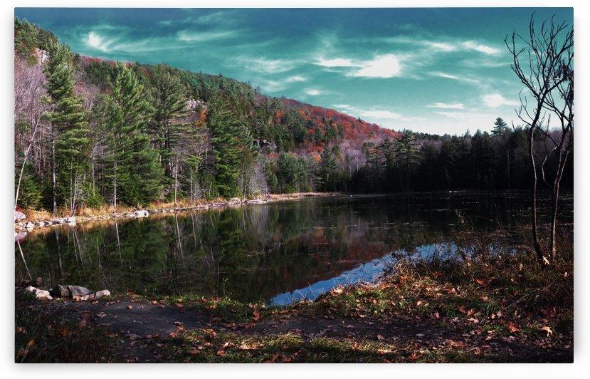 Lac Paradis Panorama sky by Quinton Smith