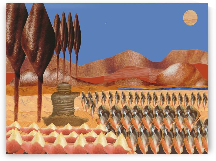 Landscape 0631 by Otto Graser Visual Artist