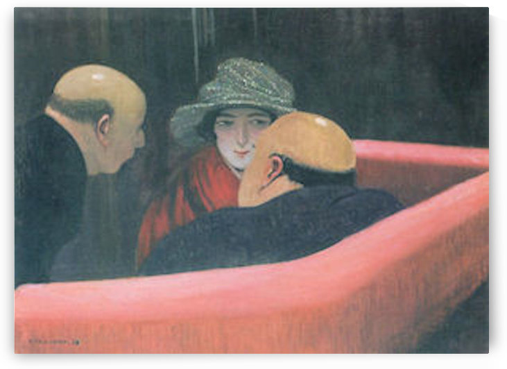 The chaste Susanne by Felix Vallotton by Felix Vallotton