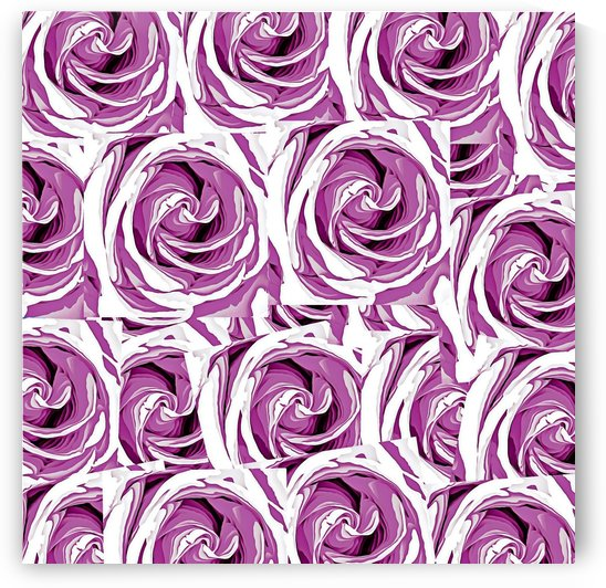 closeup pink rose texture pattern abstract background by TimmyLA
