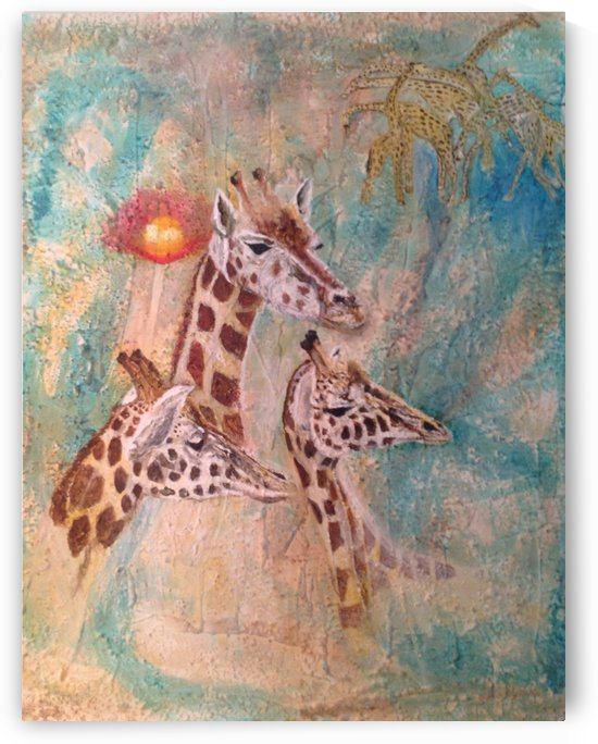 GIRAFFES by Toni Willey