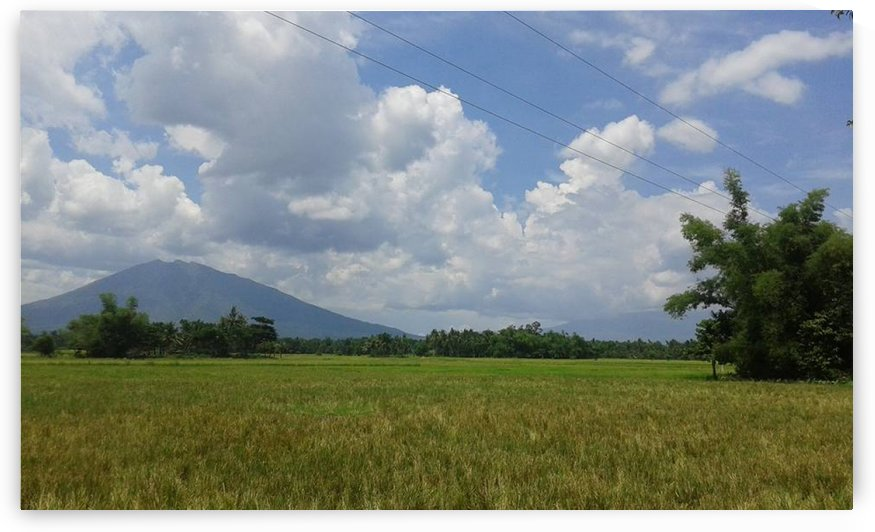 Mountain View Of Mt. Iriga  by Kristine Relieve