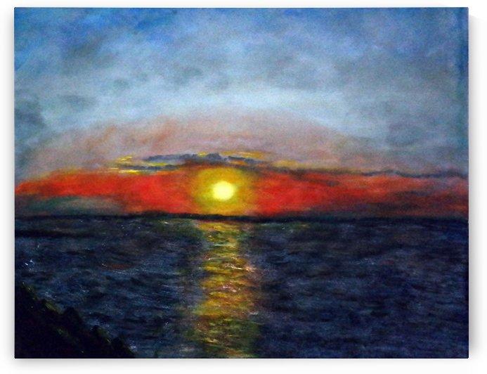 A Perfect Sunset by Paula Jane Marie