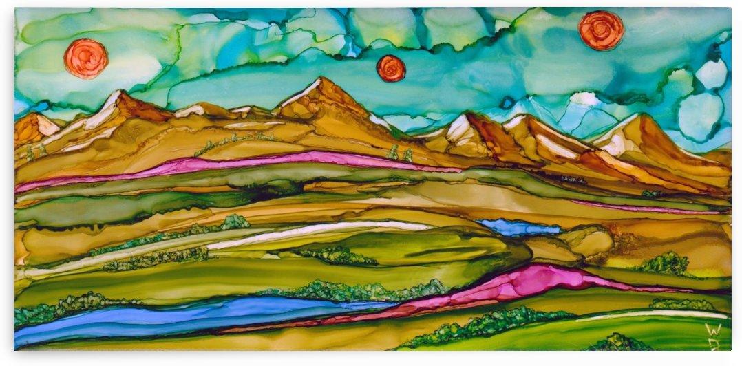 Three Suns 2 by Winona D
