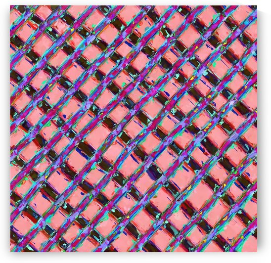 line pattern painting abstract background in pink blue purple by TimmyLA