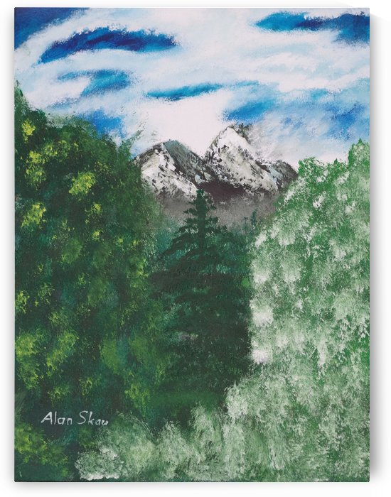 Twin Peaks by Alan Skau