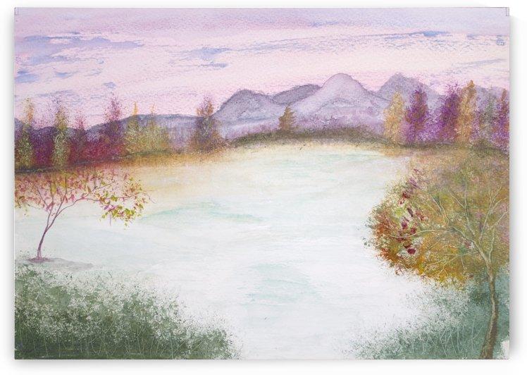 Winter Thaw. by Alan Skau