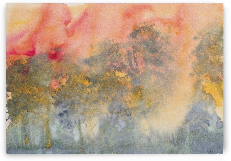 Bushfire. by Alan Skau