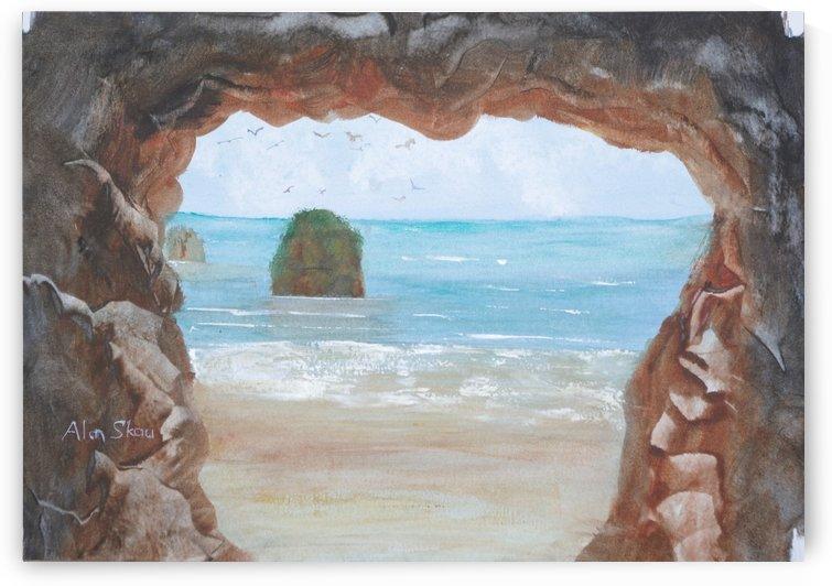 Rock Arch. by Alan Skau