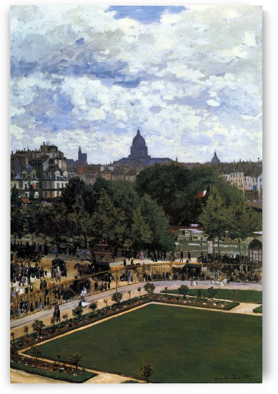 The Garden of the Infanta by Monet by Monet