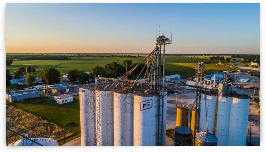 Schuyler County, IL FS Towers by Jordan Williams of Air Imagery Services