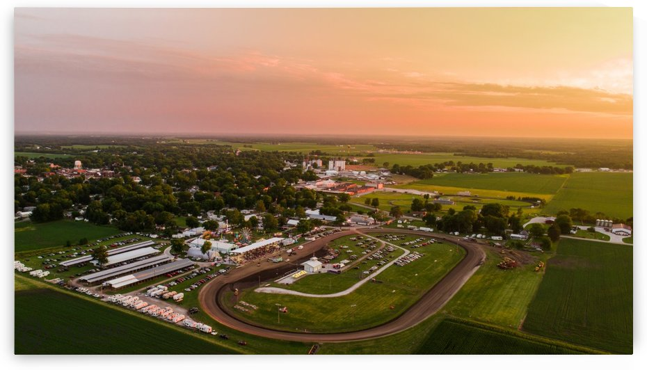 Schuyler County, IL Fairgrounds by Jordan Williams of Air Imagery Services