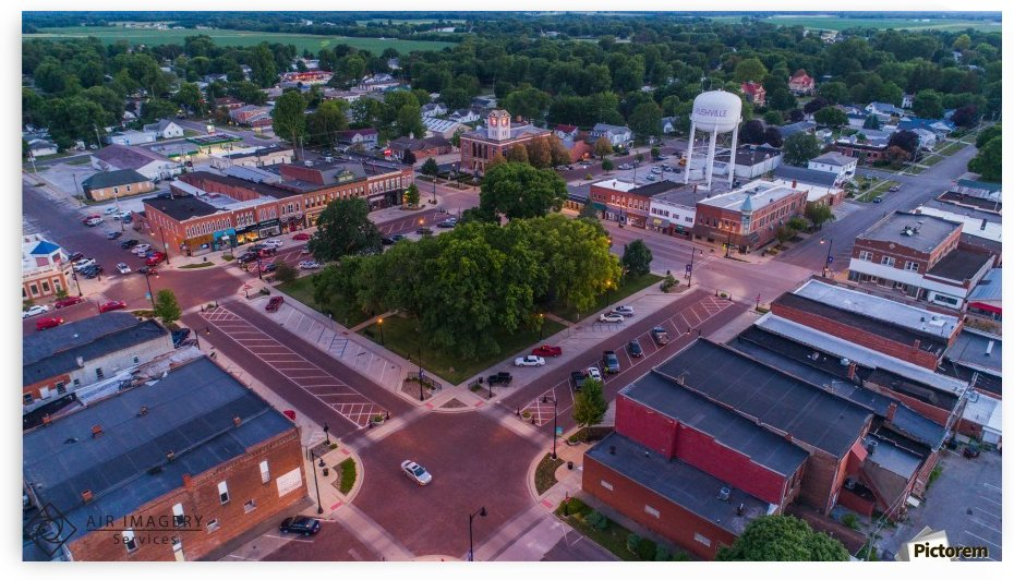 Rushville, IL Square by Jordan Williams of Air Imagery Services