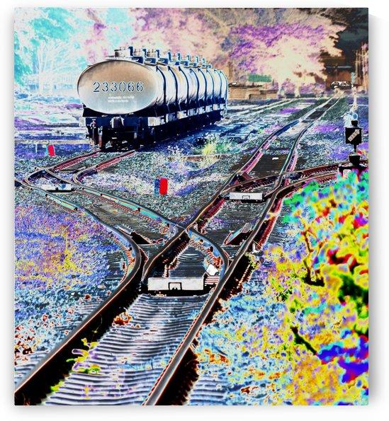 Tanker Wagons. by Alan Skau