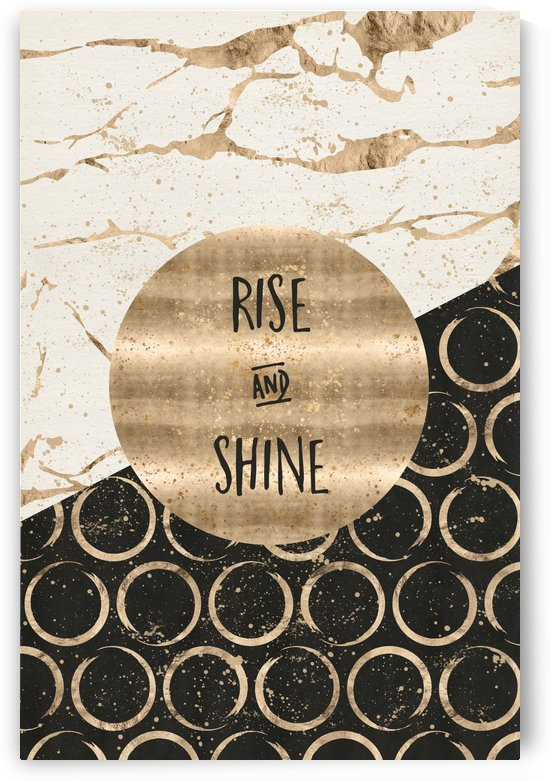 GRAPHIC ART Rise and shine by Melanie Viola