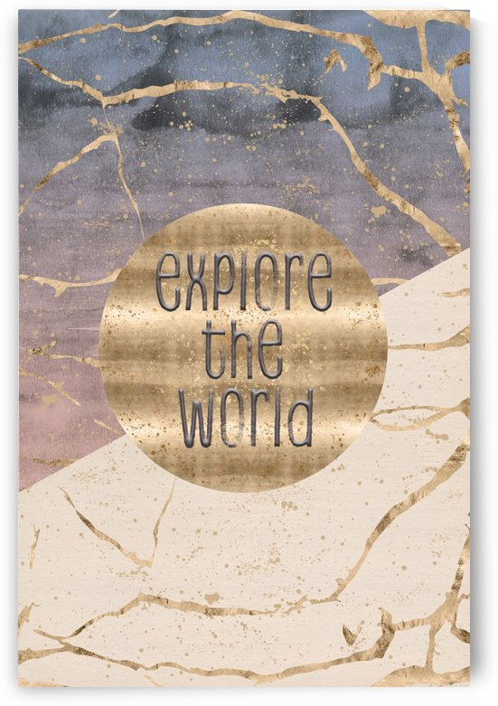 GRAPHIC ART Explore the world by Melanie Viola