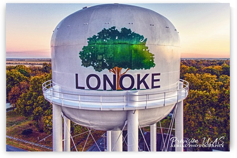 Lonoke, AR | Painted Water Tower 2017 by Provision UAS