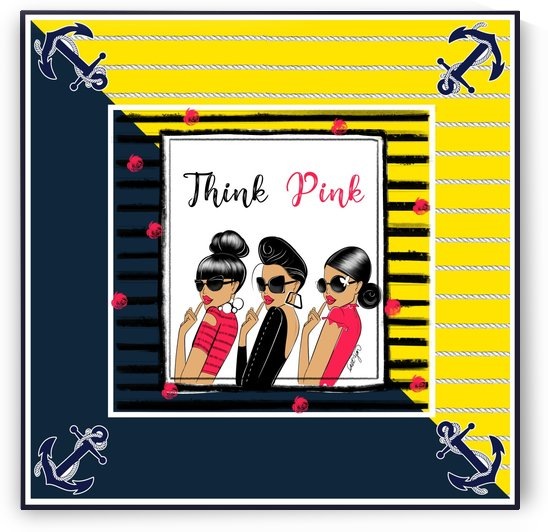 Think Pink Square by Sara Ryan
