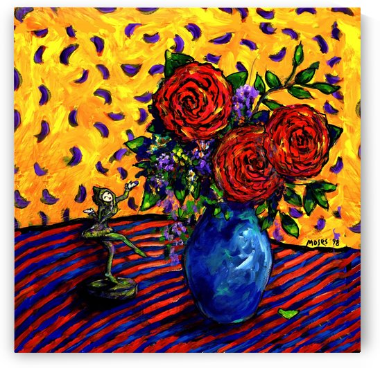 SPANISH ROSES by Moses
