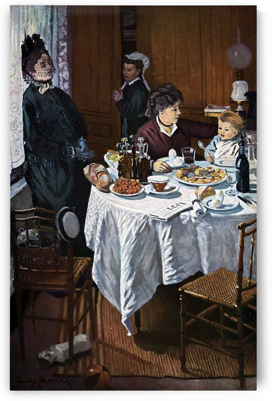 The lunch -1- by Monet by Monet