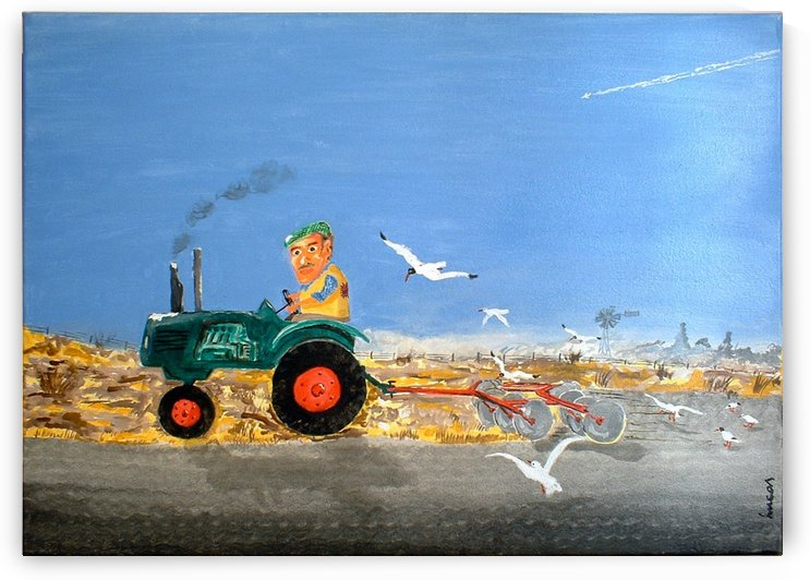 Tractor by luceire