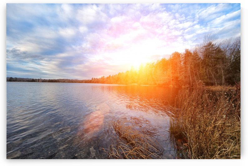 Pocono Sunset by Roman Lytvyn