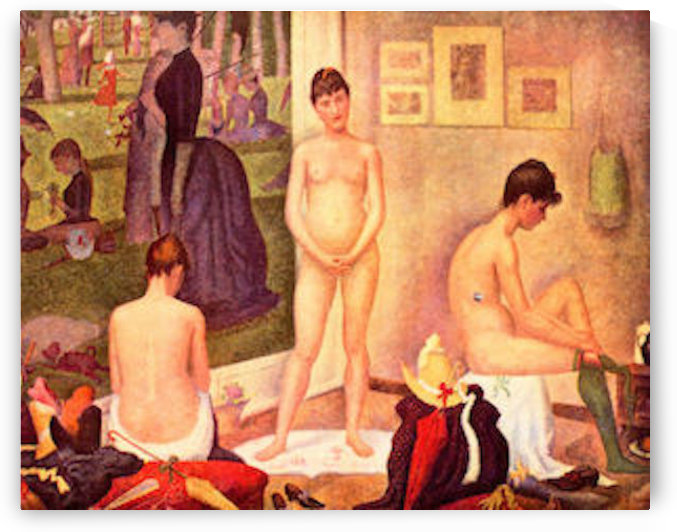 The models by Seurat by Seurat