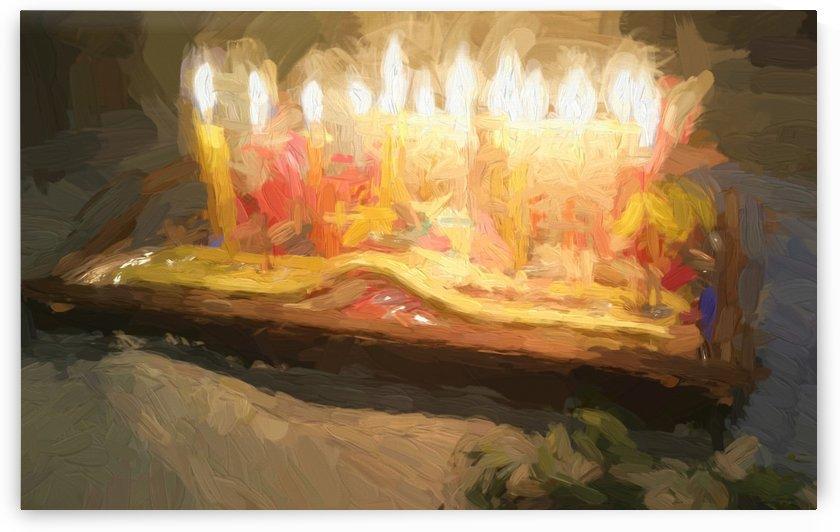Festival Lights and Fire 4 by raanan ben ari
