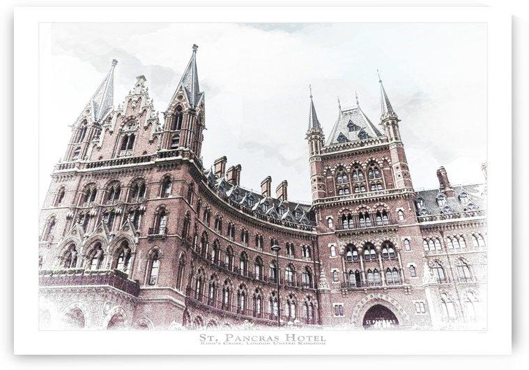 St. Pancras Station by aGeekonaBike