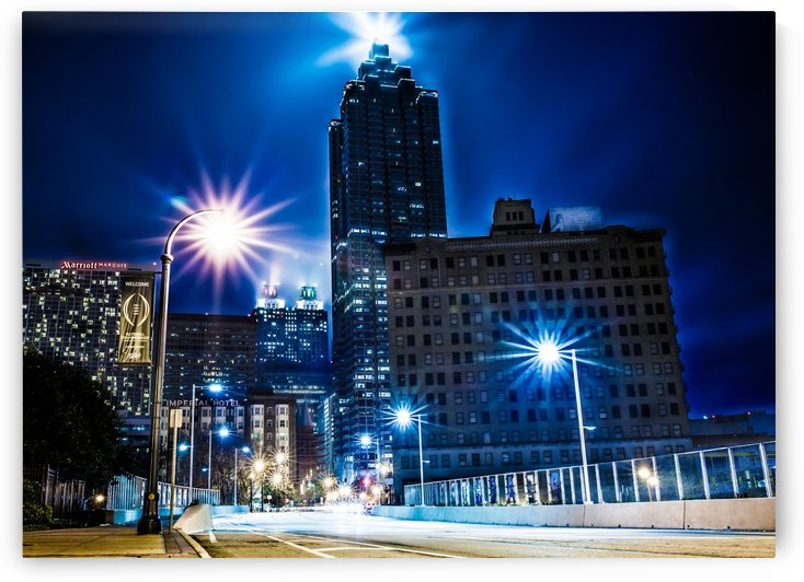 CITY LIGHTS by OPTIC CANVAS