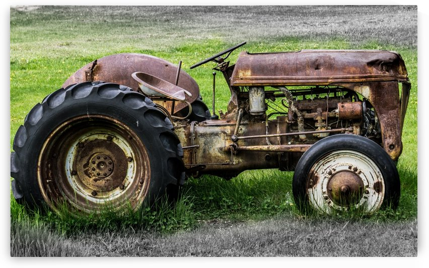 TRACTOR by OPTIC CANVAS