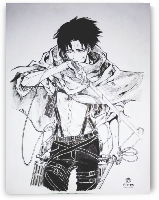 Levi Ackerman by Red Cainglet