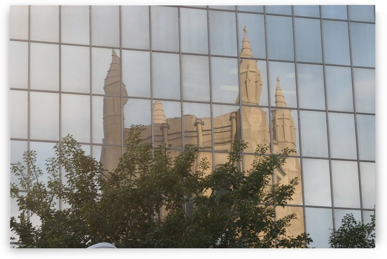 Reflection of Church Building by Hold Still Photography