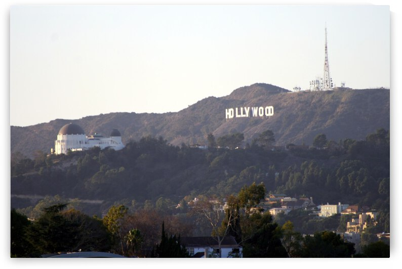 Hollywood Hills with Griffith Park Observatory by Hold Still Photography